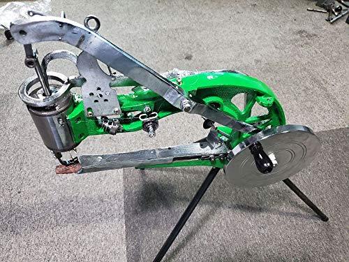 InloveArts Máquina de reparación de zapatos de bricolaje Máquina de coser de reparación de zapatos manual Máquina de reparación de zapatos de zapatero Máquina de coser de línea de nylon de algodón