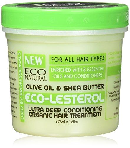 Eco Styler Eco-Lesterol Masque Réparateur Olive et Karité 473 ml