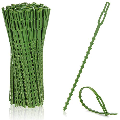 com-four® 200x Pflanzenbinder grün aus...