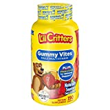 L'il Critters Gummy Vites Daily Kids Gummy Multivitamin: Vitamins C, D3 & Zinc for Immune Support, 190 Count (95-190 Day Supply), from America's No. 1 Kids Gummy Vitamin Brand
