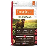 Instinct Original Grain Free Recipe with Real Beef Natural Dry Dog Food by Nature's Variety, 20 lb. Bag