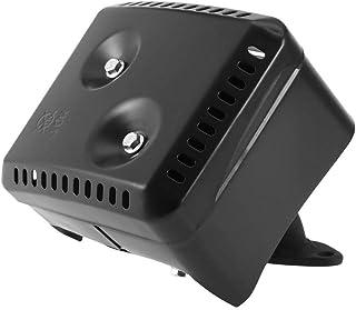 Silenciador de escape para Honda GX120 GX160 GX200 5.5 HP 6.5 HP, sistema de silenciador de escape con protección térmica para Honda GX120 GX160 GX200 5.5 HP 6.5 HP accesorios para cortacésped Sistema