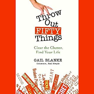 Throw Out Fifty Things audiobook cover art