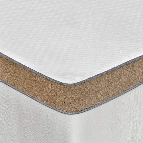 BedStory 7,6cm Gelschaum Memory Topper, Matratzentopper Härtegrad H2+H3 2-in-1 Kaltschaum, Matratzenauflage Orthopädisch für Matratzen Boxspringbett Schlafsofa, mit abnehmbarem (90 x 200 cm)