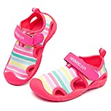 Toddler Girls Aqua Water Shoes Quick Dry Sport Beach Swim Sandals...