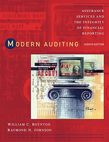 Modern Auditing: Assurance Services and the Integrity of...