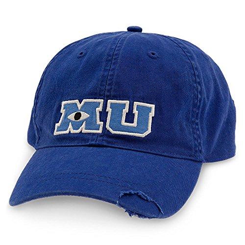 Disney Monsters University Baseball Cap for Adults Blue