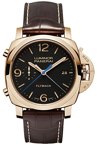 Panerai Luminor 1950 3 Days Automatic Flyback Chronograph in 18K Rose Gold - PAM00525