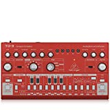 Behringer TD-3-RD Analog Bass Line Synthesizer with VCO, VCF, 16-Step Sequencer, Distortion Effects...