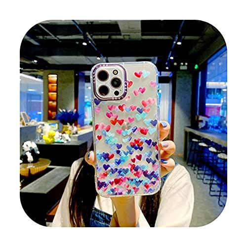 Funda para Huawei Y5 2019 2018 Y5P P20 P30 P40 Mate Nova 5T lindo caramelo suave silicona cubierta trasera Color amor teléfono Carcasas parachoques - 2-Para Huawei Y6P