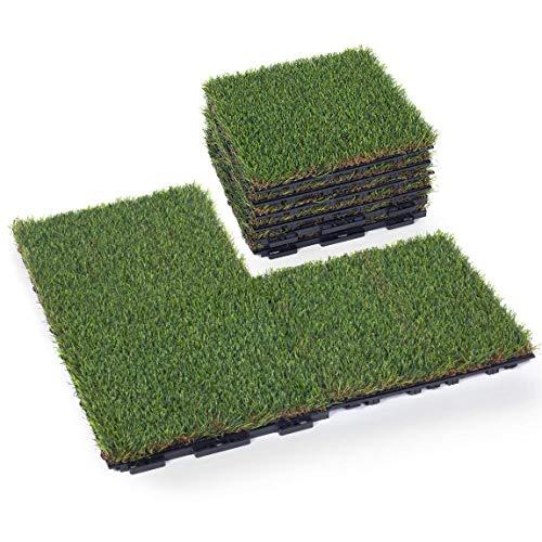 GOLDEN MOON Artificial Grass Turf Tile