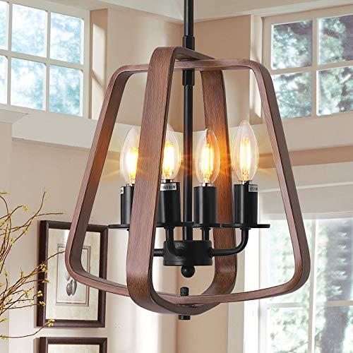 Retro Lámpara de techo colgante para comedor candelabro de techo vintage iluminación de techo interior lámpara de techo para cocina...