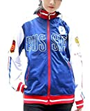 GK-O Anime Yuri on ICE Yuri Plisetsky Sportswear Hoodies Cosplay Jacket Russia (Asian Size X-Large) Blue