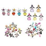 Yourandoll 30 colgantes de alas de ángel, alas de mariposa, para manualidades, bodas, joyas, collar de perlas