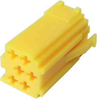 tomzz Audio 5800-090 Juego de conectores mini ISO carcasa verde, amarillo y azul, 20 contactos