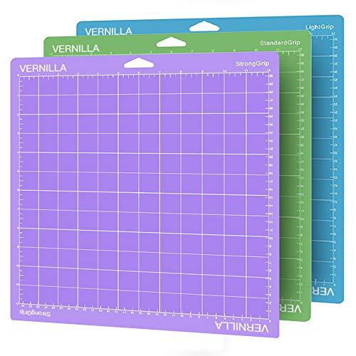 FANFX - Juego de 3 alfombrillas de corte de 30 x 30 cm para Silhouette Cameo Explore Air/Air 2/One (multicolor)