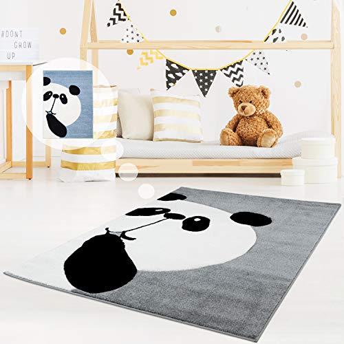 MyShop24 - Alfombra infantil con oso panda (80 x 150 cm), color...