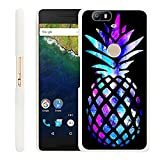 Huawei Google Nexus 6P Case Pineapple,Gifun Slim White Hard