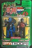 GI Joe vs Cobra Spy Troops Cobra Alley Viper Vs Cobra Viper Action Figures