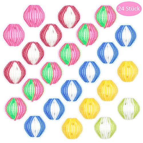 umorismo Waschbälle Fusselbälle Mini-Waschbälle 3cm Gegen Flusen Fusseln Waschbälle (24 Stück)