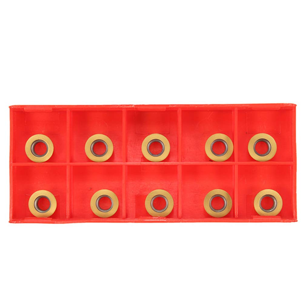 Face Milling SRAPR1616H10 Lathe Tool Holder with 10Pcs RPMT10T3MO Carbide Insert
