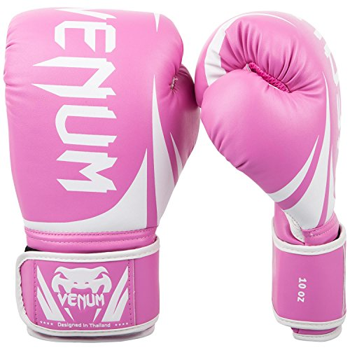 Venum Challenger 2.0 Boxing Gloves - Pink - 10-Ounce