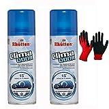 2x175ml Clima Odor| Spray Auto Climatizzatore| Autosvuotante in 15 minuti| Igienizzante Purificante Neutralizza i Cattivi Odori, per Condizionatori, Tessuti, Sedili Auto e Veicoli