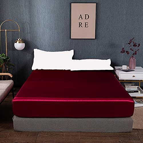 Sábanas súplicas súper Suave colchón colchón Cubierta de colchón Sin almohadaCases Reina King Completo Twin 150x200 160x200 180x200cm 2021 (Color : XC, tamaño : 180x220cm)