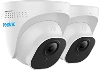 Reolink RLC-420-5MP (2 Pack) PoE Camera Outdoor Video Surveillance Home Security Night Vision Motion Detection w/SD Card Slot
