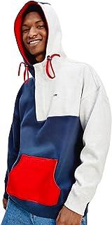 Tommy Jeans Tjm Colorblock Hoodie Felpa con Cappuccio Uomo