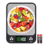 Food Scale for Calorie Control,Vsadey High-Precision 5000g/1g Digital Kitchen Scales for Weight Loss and Nutrition Ingest for Baking Cooking Dieting Plan