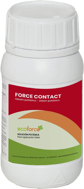 CULTIVERS Jabón Potásico Bio de 250 ml. Actúa por Contacto. Múltiples usos, Solución Potásica 100%