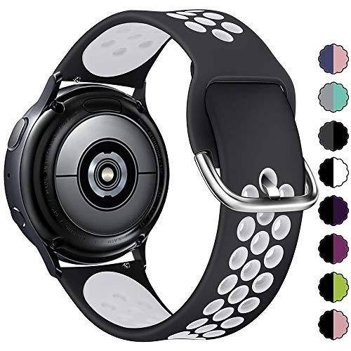 KIMILAR Pulseras Compatible con Samsung Galaxy Watch 42mm/Watch Active/Active 2 (40mm/44mm),...
