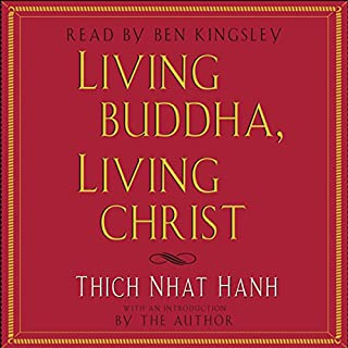 Living Buddha, Living Christ cover art