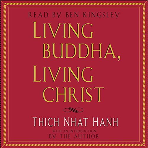 Living Buddha, Living Christ audiobook cover art