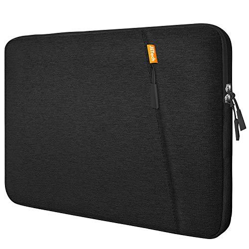 JETech 13,3 Pollici Sleeve Laptop Notebook Tablet iPad Tab, Custodia Borsa Impermeabile Compatibile MacBook Air PRO, 13  MacBook Pro, 12.3 Surface PRO, Surface Laptop, Nero