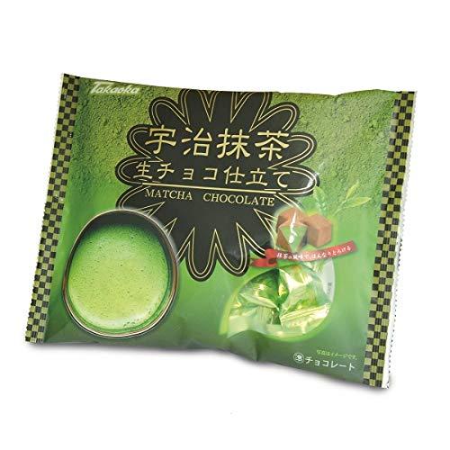 タカオカ 大袋入りチョコ (ショコラ生チョコ仕立て宇治抹茶, 1袋)
