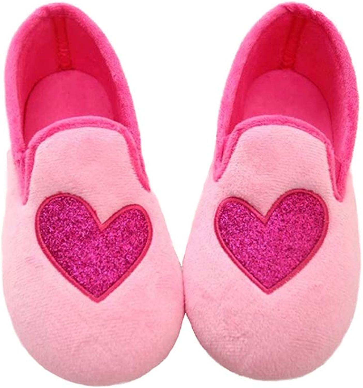 Misolin Womens Slippers, Slip On Anti-Slip Ballerina Pom Pom House shoes, Indoor & Outdoor
