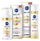 NIVEA Cellular LUMINOUS 630 Antimanchas Crema de Día FP50 + Antimanchas Sérum...