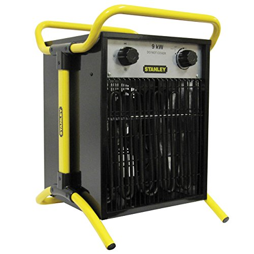 Stanley ST-05-400-E - Calentador eléctrico industrial/turbo, 9KW