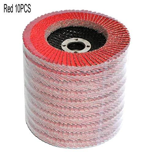 Best Review Of Xucus 4 x 5/8 10PCS Professional Flap Discs 100mm Grinding Wheels Sanding Discs 60 ...