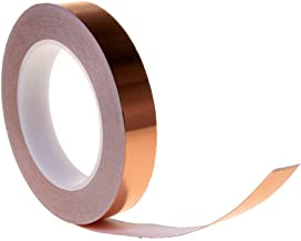 SE Single Sided Copper Tape with Conductive Adhesive for Electric Guitar (6 MM X 25 Meter)