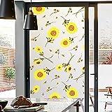 LMKJ Ventana de privacidad película de Papel de Aluminio Pegatina de Vidrio Esmerilado Opaco baño estático sin Pegamento decoración del hogar película de Vidrio