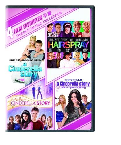 4 Film Favorites: Tween Romance (Hairspray, Cinderella Story, Cinderella Story 2, Cinderella Story: Once Upon a Song)