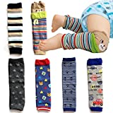 Elesa Miracle 6-pack Baby & Toddler Cozy Soft Leg Warmers,