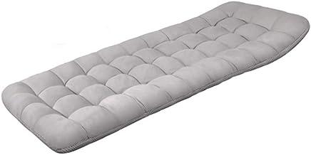 Oksmsa Folding Mattress Cotton Pads Thicken Sun Lounger Cushion Dual use Portable Floor mat Roll Up Camping Mattress for H...