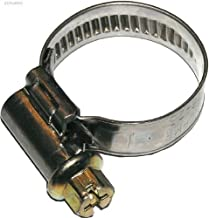 Dresselhaus Norma Hose Clips for Tape and Dipped with Stainless Steel Worm Screw 6-Kant Chassis, Slotted, 40 x 60 mm, 25 pcs