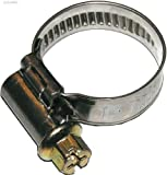 Dresselhaus 0/4647/000/40/ 60/ /76 - Manguera Norma abrazaderas cinta y carcasa de acero inoxidable con galvanizado Tornillo sinfín 6-Tube, ranurados, 40 x 60 mm, 25 piezas