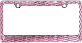 glitter number plates