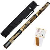 Australian Treasures Didgeridoo ''carved'' + bijenwas...